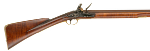 Colonial Fowler by Jim Frost and Powder Horn by Mike Small, Sold to Benefit the Contemporary Longrifle Foundation