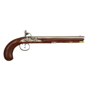 Flintlock Pistol by Dennis Kelley, Sold to Benefit the Contemporary Longrifle Foundation