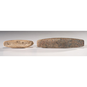 A Pair of Bar Weights, Largest 4-7/8 in.