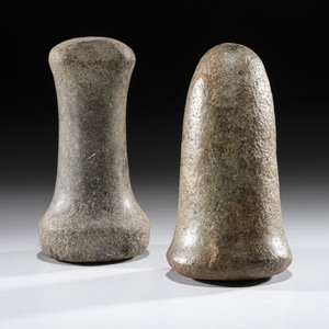 A Pair of Pestles, Largest 6 in.