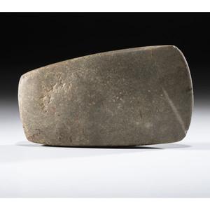 A Granite Hopewell Celt, 6 in.