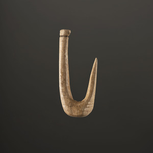 A Bone Fish Hook, 1-7/8 in.