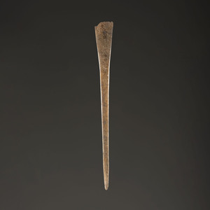 A Large Bone Hairpin, 10 in.