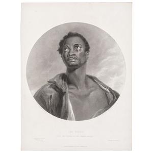 [LOUVERTURE, Toussaint. (1743-1803)]. DELPHEC, Francois Seraphim, lithographer, after Nicolas Eustache Maurin. Toussaint Louverture. [France, ca 1833].