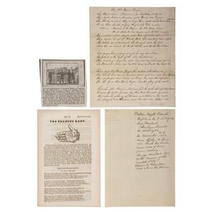 [SLAVERY & ABOLITION]. The Branded Hand. Salem, OH: Anti-Slavery Bugle, [ca 1840s].