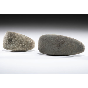 A Pair of Granite Celts, Largest 5-3/4 in.