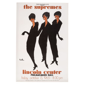 [MUSIC]. EULA, Joe (1925-2004), artist. A group of two 1960s music posters featuring Eula artwork, including: