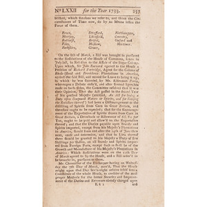 [SLAVERY & ABOLITION]. The Historical Register. Vol. XVIII. London: S. Nevill, 1733.