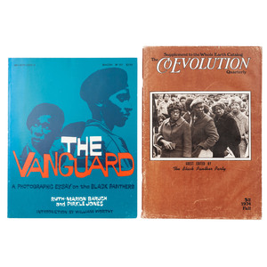[BLACK PANTHERS]. Collection of newsletters, magazines, and broadsides related to the Black Panther Party, comprising: