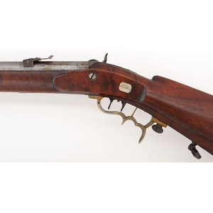 J. Muller Schuetzen-style Percussion Rifle, .68 cal