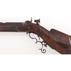 J.J. Schlaepfer Schuetzen-style Percussion Rifle, .44cal