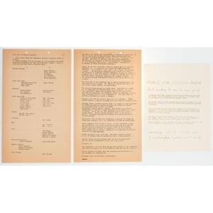 [CIVIL RIGHTS]. Assorted Civil Rights ephemera, comprising: