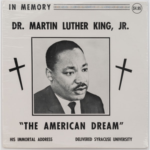 [KING, Martin Luther, Jr. (1929-1968)]. A group of ephemera related to Martin Luther King, Jr., comprising: