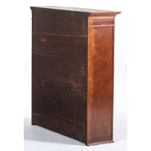 A Chippendale Cherrywood Slant-Front Desk and Bookcase, Possibly Virginia, Circa 1810