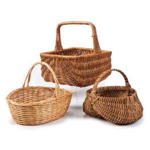Nine Woven Baskets