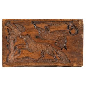A Continental Carved Mold Board, Circa 1871