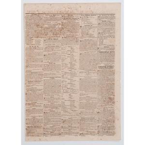 [SLAVERY & ABOLITION]. Florida Herald. Vol. VIII, No. 26. St. Augustine, FL: 7 November 1842.