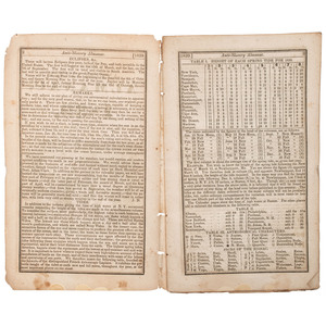 [SLAVERY & ABOLITION]. The American Anti-Slavery Almanac, For 1839. Vol. 1. No. 4. Published for the American Anti-Slavery Society. New York: S.W. Benedict, 1839. Boston: Isaac Knapp, 1839.