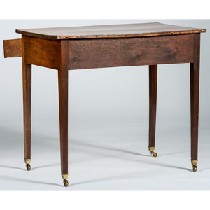 An English Mahogany Inlaid Writing Table