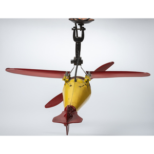 A Painted Metal General Electric Barber's Fan-o-Plane