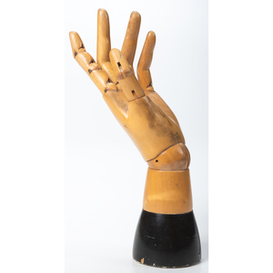 A Boxwood Articulated Hand