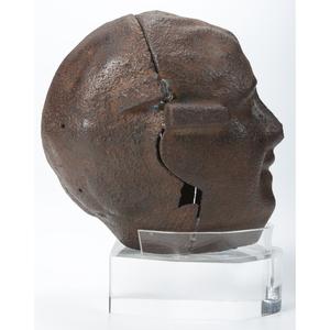 "A John ""CZ"" Czeszeziezki Cast Iron Figural Pumpkin Mold, Lake County, Ohio"