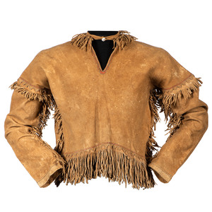 Apache Painted Hide Shirt