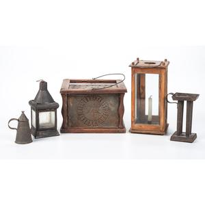 Three Lanterns and Early Tin Wares
