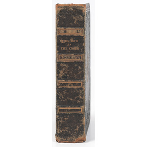 [SLAVERY & ABOLITION]. [RAWSON, Mary Anne, editor]. The Boy in the Cloud; Or, The Negro's Memorial.  London: Jackson and Walford, 1834.