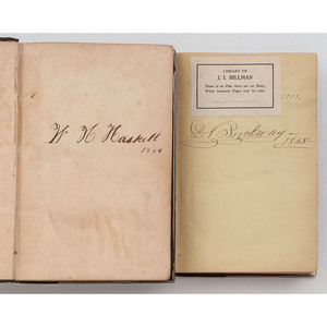 [SLAVERY & ABOLITION] A group of nine antebellum abolitionist works, comprising: