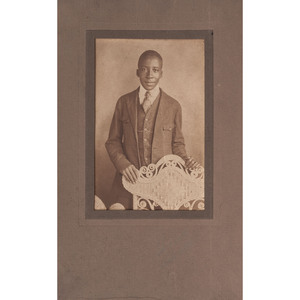 [PHOTOGRAPHY -- PORTRAITURE] A group of tintype and albumen photographs of African American subjects
