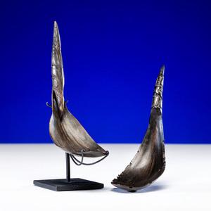 Northwest Coast Carved Horn Spoons