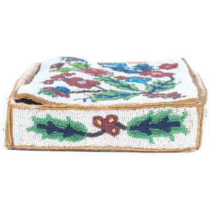Anishinaabe Beaded Bible Box