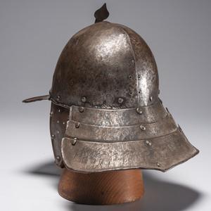 17th Century English Lobster-Pot Helmet