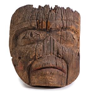 Northwest Coast Totemic Fragment