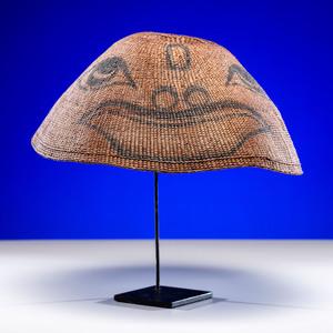 Kwakwaka'wakw Painted Basketry Hat