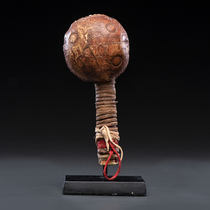Apsáalooke Hide Rattle, From the Collection of Dick Jemison, Alabama
