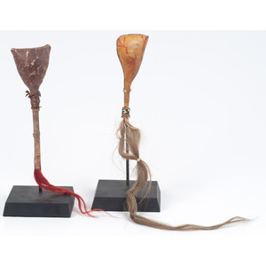 Navajo Hide Rattles, From the Collection of Dick Jemison, Alabama