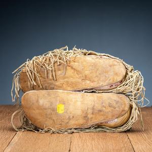 Kiowa Beaded Hide Moccasins