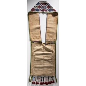 Potawatomi Loom-Beaded Bandolier Bag