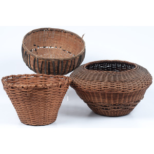 Collection of Southeastern Baskets