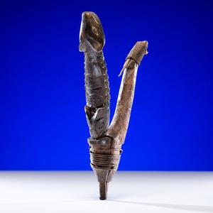 Tlingit Carved Halibut Hook