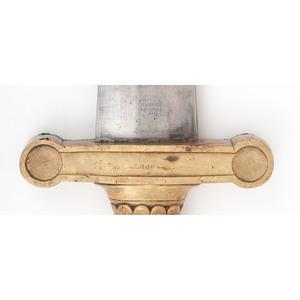 U.S. Model 1832 Artillery Sword w/ Belt, Scabbard
