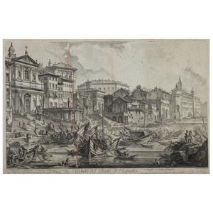 Two Piranesi Engravings