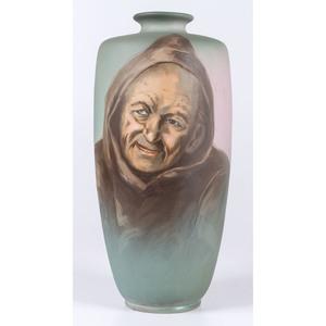 A Frank Ferrell (1878-1961) for Weller Portrait Vase