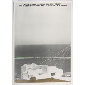 [FINE ART]. A group of 4 posters promoting large scale installations, incl. Dale ELDRED, Michael HEIZER, and Takaaki MASUMOTO.