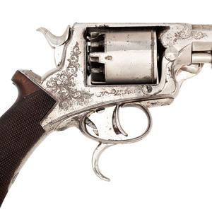 Cased 3rd Model Tranter Percussion Revolver