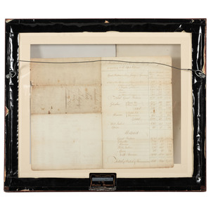 [REVOLUTIONARY WAR]. Archive of 8 documents regarding British Forces during the American Revolution, comprising: