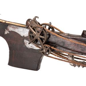 Italian Heavy Siege Or Windlass Crossbow Circa 1650