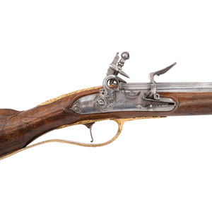 Outstanding Italian Flintlock Fusil by Botti & Cominazo